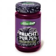 Allos Frucht Pur 75% Brombeere 250g