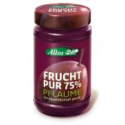 Allos Frucht Pur 75% Pflaume 250g