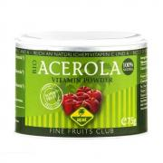 Fine Fruits Club Acerola Pulver 75g