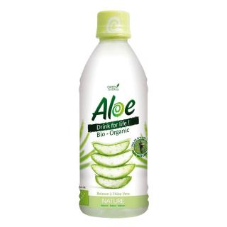 Organic Bloom Aloe Drink for Life Natur 350ml