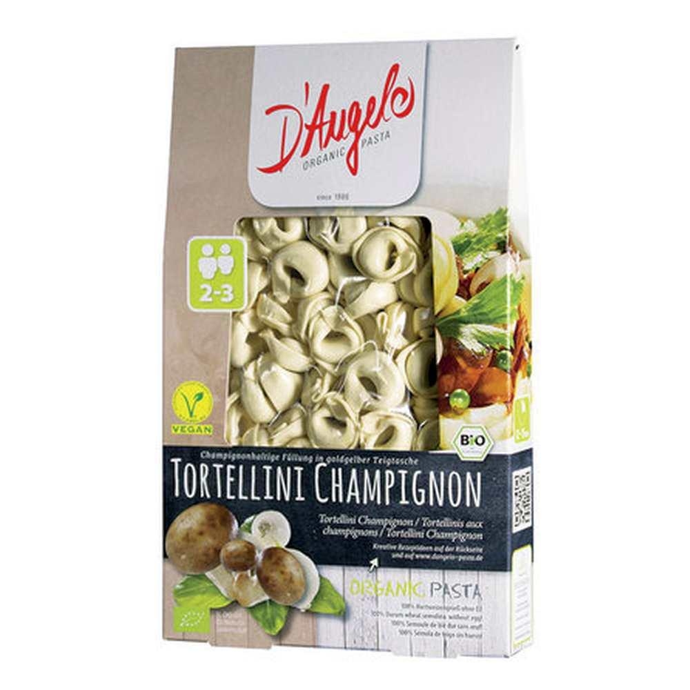 d 39 angelo tortellini champignon 250g vegan g nstig bestellen hallo. Black Bedroom Furniture Sets. Home Design Ideas