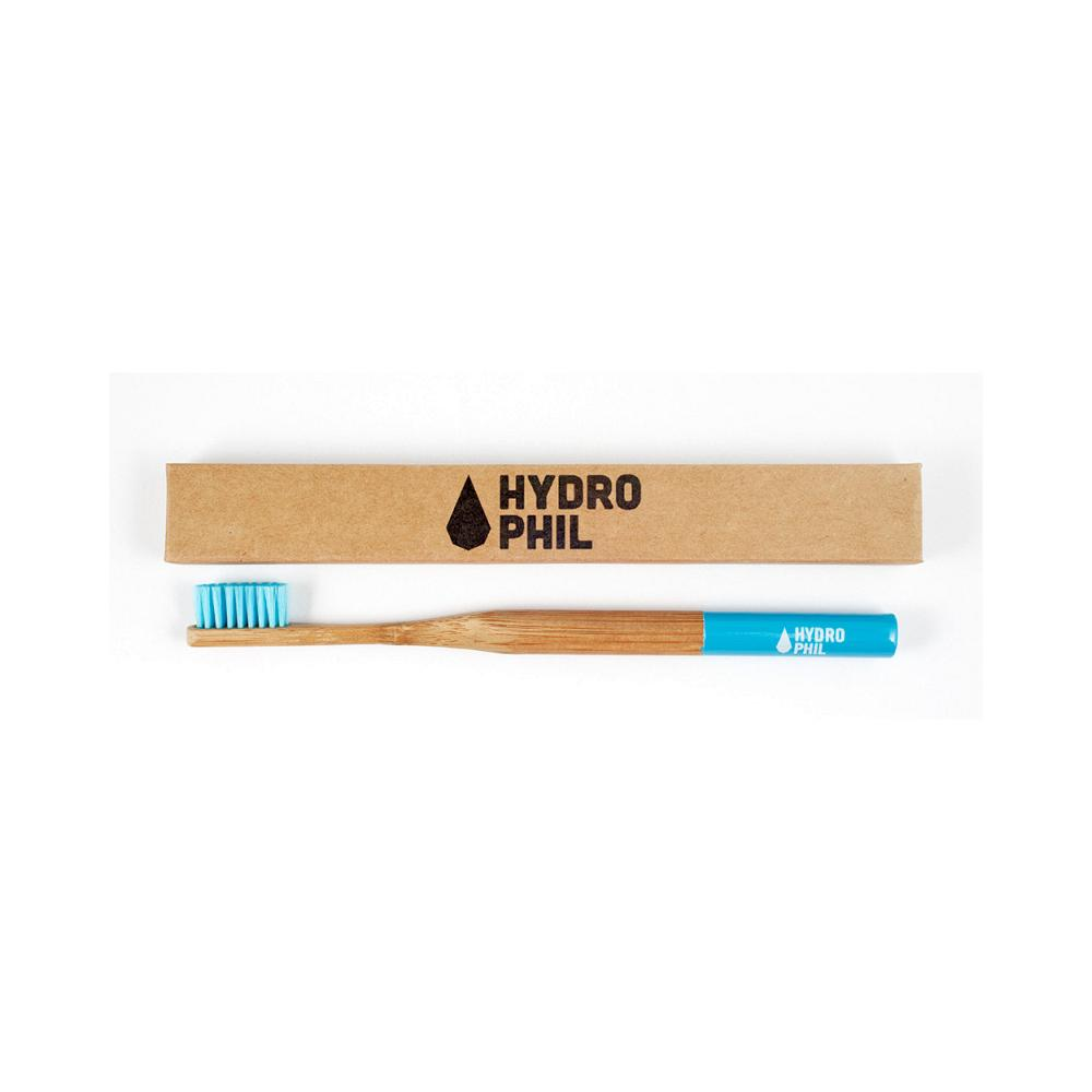 Hydrophil Bambus Zahnburste Borsten Mittel Farbe Blau Vega