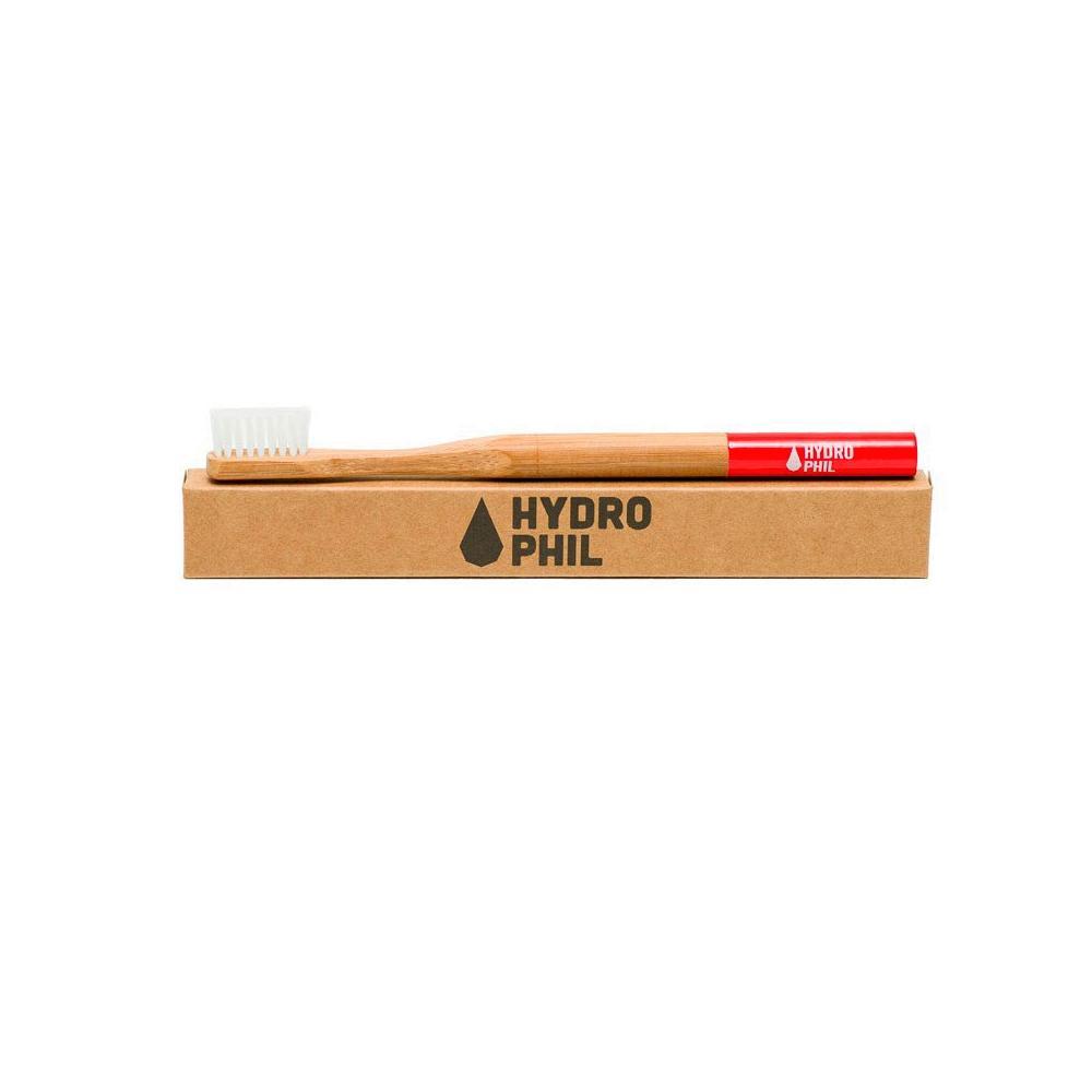 hydrophil bambus zahnb rste borsten mittel farbe rot. Black Bedroom Furniture Sets. Home Design Ideas