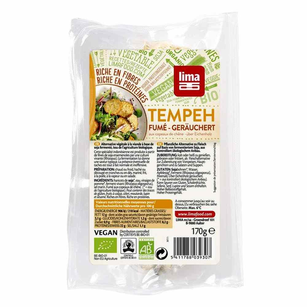 Bezaubernd Tofu Nährwerte Ideen Von Lima Tempeh Geräuchert 170g
