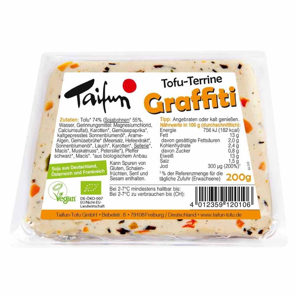 Bezaubernd Tofu Nährwerte Das Beste Von Taifun Tofu-terrine Graffiti 200g