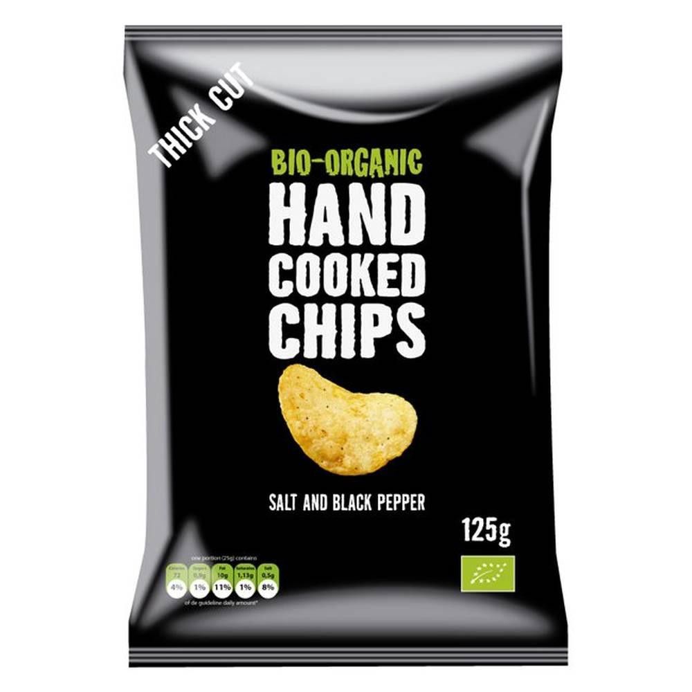 Trafo Handcooked Chips Salt   Pepper 125g ed997845a3