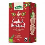 Allos English Breakfast Tea Schwarztee 20 Teebeutel 44g