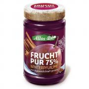 Allos Frucht Pur 75% Winterpflaume 225g