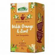 Allos Wilde Orange & Zimt Kräutertee 20 Teebeutel 30g
