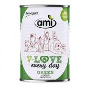 Amì Dog V-Love Every Day Nassfutter Green 400g