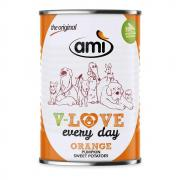 Amì Dog V-Love Every Day Nassfutter Orange 400g