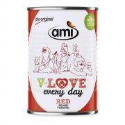 Amì Dog V-Love Every Day Nassfutter Red 400g