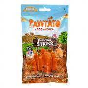 Benevo Dog Pawtato Sticks Leckerli Blaubeere 120g
