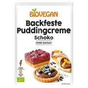 BioVegan Backfeste Puddingcreme Schoko 55g