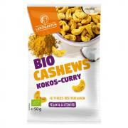 Landgarten Würzige Cashews Kokos-Curry 50g