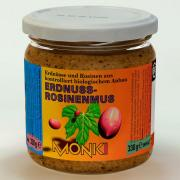 Monki Erdnuss-Rosinenmus 330g