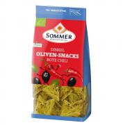 Sommer Oliven-Snacks Rote Chili 150g