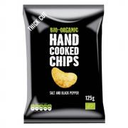 Trafo Handcooked Chips Salt & Pepper 125g