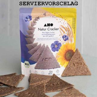 AHO Raw Cracker Natur 100g