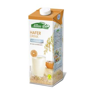 Allos Haferdrink naturell 1.0 Liter