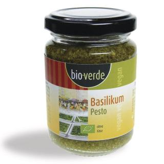 BioVerde Basilikum Pesto 125ml