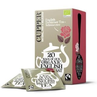 Cupper Tea English Breakfast Tea 20 Teebeutel 50g