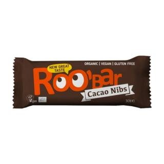Dragon Superfoods RooBar Cacao Nibs Almond 30g