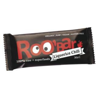 Dragon Superfoods RooBar Lakritz Chili 30g