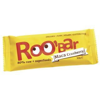 Dragon Superfoods RooBar Maca Cranberry 30g