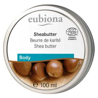 Eubiona Sheabutter Pur 100ml