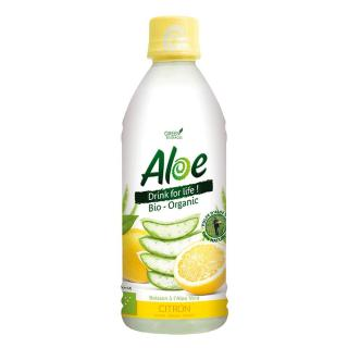 Organic Bloom Aloe Drink for Life Zitrone 350ml