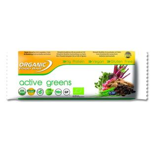 Organic Food Bar Riegel Active Greens 68g