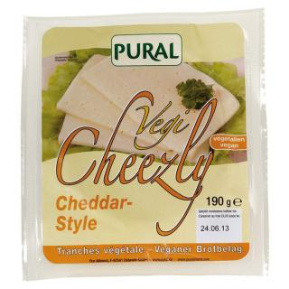 Pural Cheezly Cheddar Style 190g