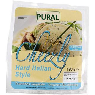 Pural Cheezly Hard Italian Style 190g