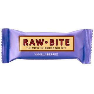 Raw Bite Energieriegel Vanilla Berries 50g