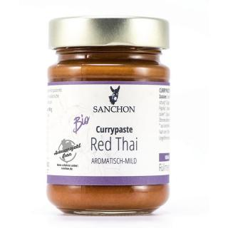 Sanchon Currypaste Red Thai 190g