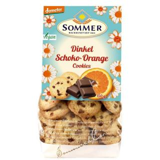Sommer Schoko-Orange Cookies 150g