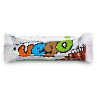 Vego Riegel Whole Hazelnut Chocolate Bar Mini 65g