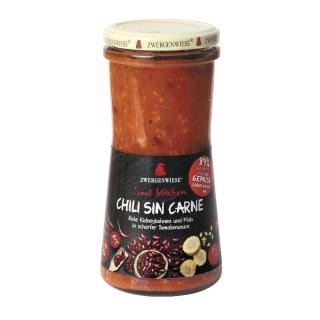 Zwergenwiese Soul Kitchen Chili sin Carne 410g
